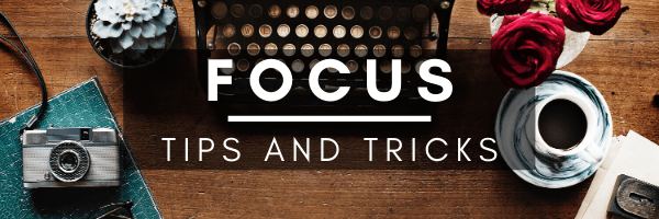 A Recipe for Focus and Concentration