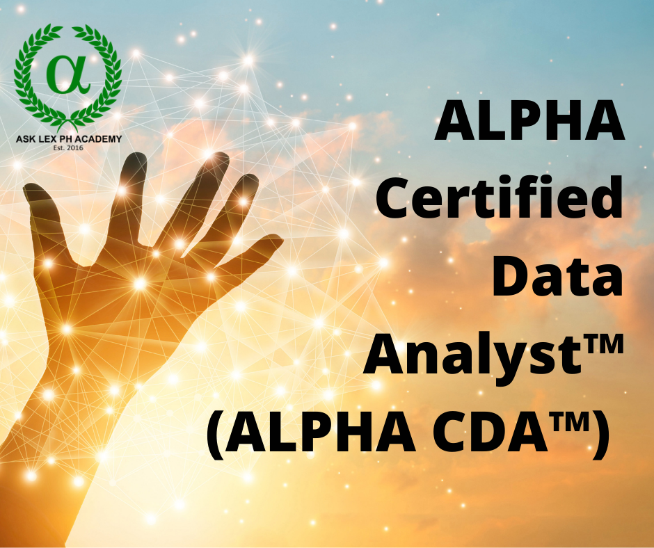 Online Data Analyst Certification (CDA™)