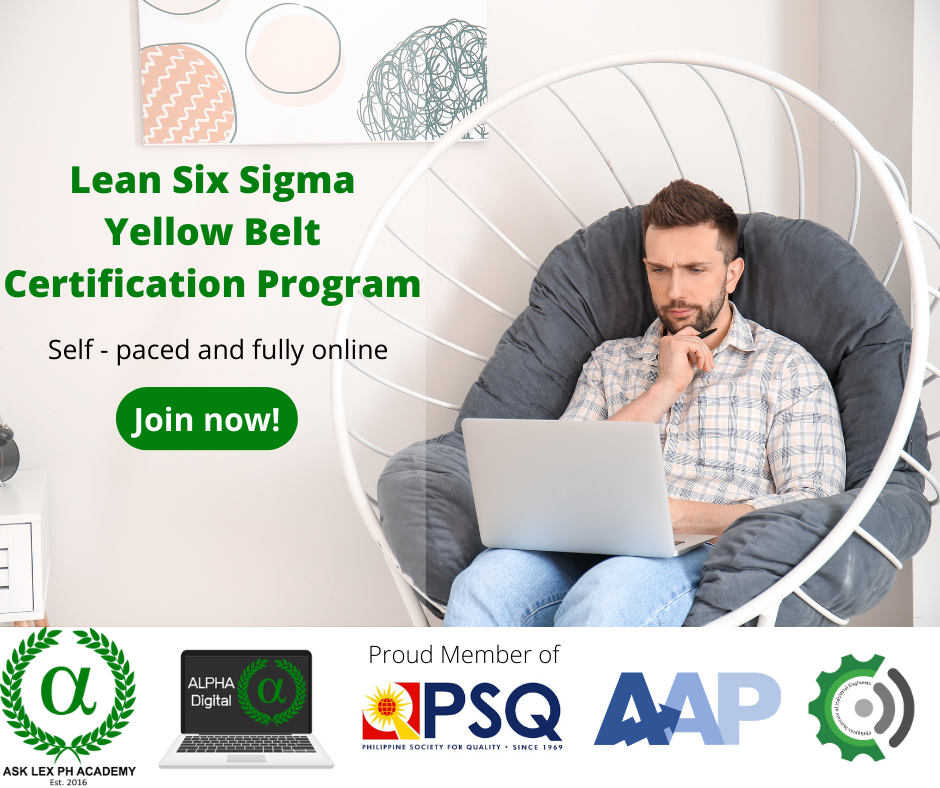 Lean Six Sigma Yellow Belt – Self Paced