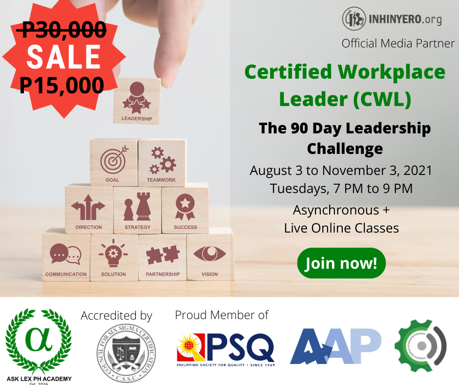 Certified Workplace Leader